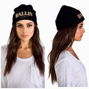 d648e11ef74606 Brian Lichtenberg. Authentic Brian Lichtenberg Ballin Gold Beanie Hat